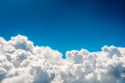Fototapeta Błękitne niebo i chmury