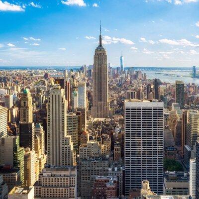 Fototapeta Blick auf Manhatten w Nowym Jorku, USA