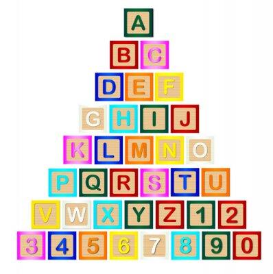 Fototapeta Blok List Pyramid