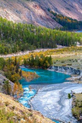 Fototapeta Blue River w górach
