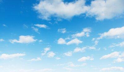 Fototapeta blue sky with white cloud landscape background