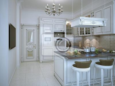 Fototapeta Błyszczący Kuchnia W Stylu Art Deco