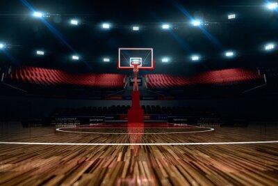 Fototapeta Boisko do koszykówki. Areny sportowe.