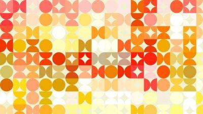 Fototapeta Bokeh światła, migające światła rozmycie spot na pomarańczowy abstrakcyjne powrotem