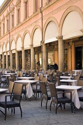 Fototapeta Bolonia - restauracja