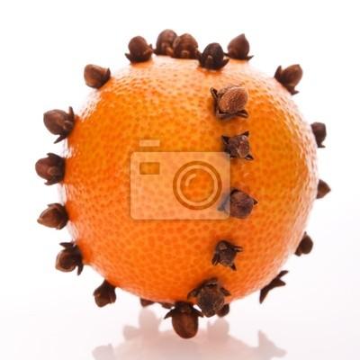 Fototapeta Boże Narodzenie pomarańczowy