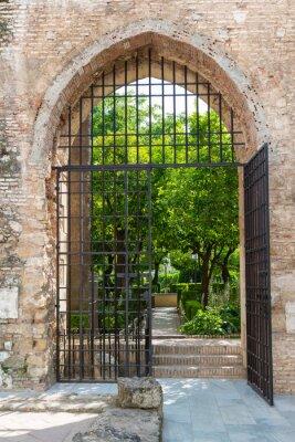Fototapeta Brama do Ogrodu Alcazar w Kordobie
