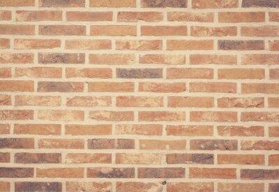 Fototapeta Brązowy kamienia cegły ściany tekstury i tła bez szwu.