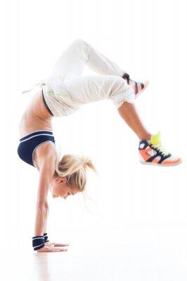 Fototapeta Breakdance Kobieta