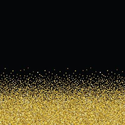 Fototapeta Brokat złoty płynną konsystencję.