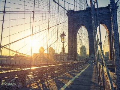 Fototapeta Brooklyn Bridge w Nowym Jorku