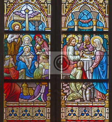 Brugge Pokłon Trzech Króli I Wesele W Kanie Galilejskiej