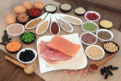 Fototapeta Budowa ciała Dieta żywności