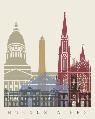 Fototapeta Buenos Aires Skyline Plakat