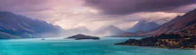Fototapeta Burza nad Glenorchy, Central Otago - Południowa wyspa Nowej Zelandii