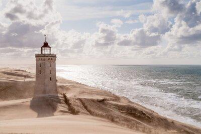 Fototapeta Burza piaskowa w The Lighthouse
