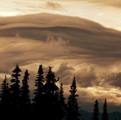 Fototapeta Burzowe chmury