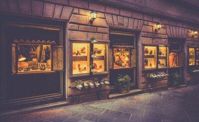Fototapeta Buty zakupy w Toskanii