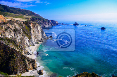 Fototapeta california coast