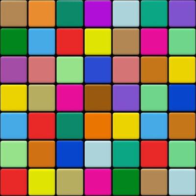 Fototapeta Carrelage multicolore 1,03