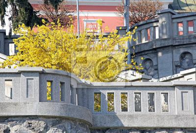 Centrum miasta Ruzomberok, Słowacja