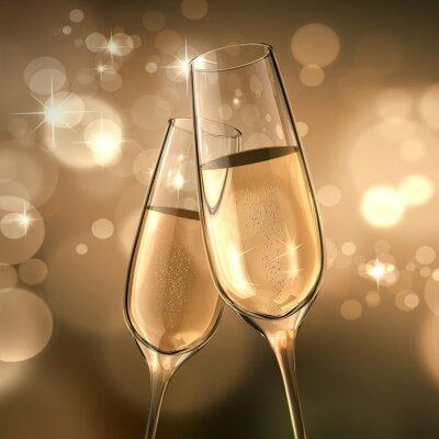 Fototapeta Champagner-Data