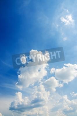 Fototapeta Chmura z jasnego nieba