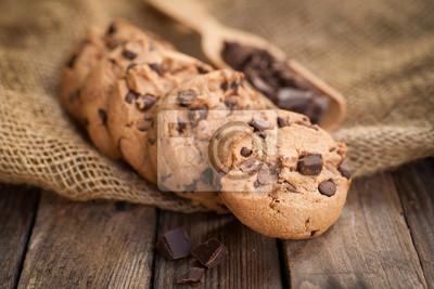 Fototapeta Chocolate Cookies