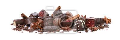 Fototapeta Chocolats de Noël