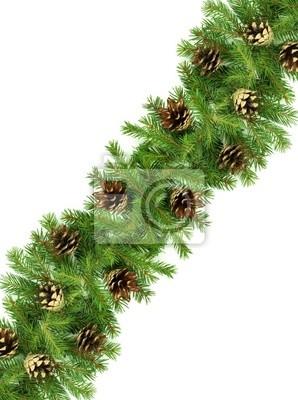 Fototapeta Christmas ramy