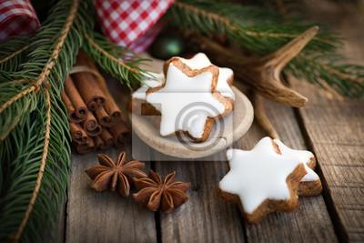 Fototapeta Christmas time Cynamon