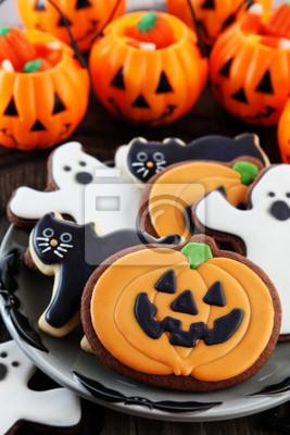 Fototapeta Ciasteczka Halloween