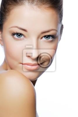 Fototapeta Close -up portret sexy Caucasion młoda kobieta