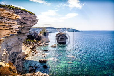 Fototapeta Coastal Bonifacio   Korsyka