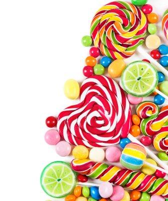 Fototapeta Colorful candies