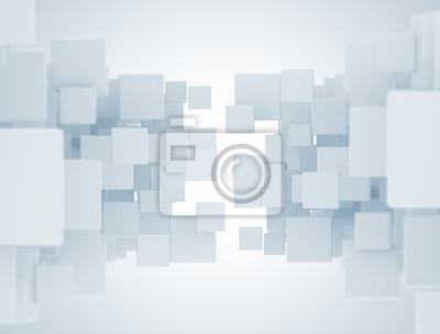 Fototapeta cube pattern abstract background