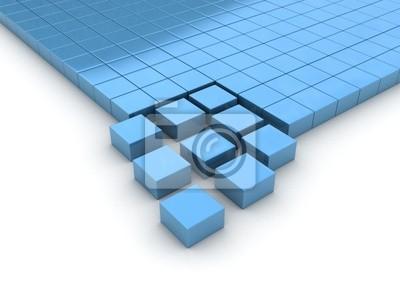 Fototapeta Cubes