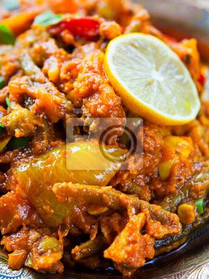 Curry Warzywne Kuchnia Indyjska Sabzi Z Ziemniakami Z Pomidorow