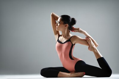 Fototapeta ćwiczenia jogi