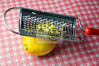 Fototapeta cytryna świeży całości krata