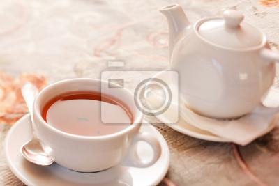 Fototapeta czarna herbata
