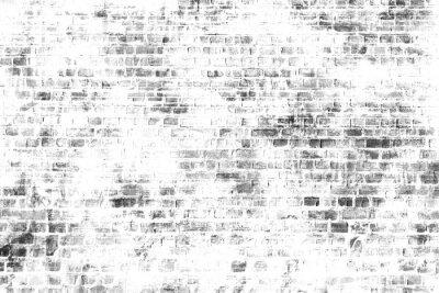 Fototapeta Czarno-białe malarstwo ścienne sztuki, inspirujący obraz tła.