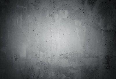 Fototapeta Czarny grunge wyblakły betonowej ścianie tekstury