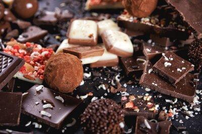 Fototapeta czekolada