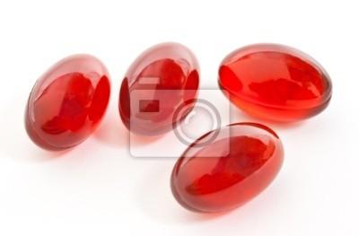 Fototapeta Czerwone kapsułki