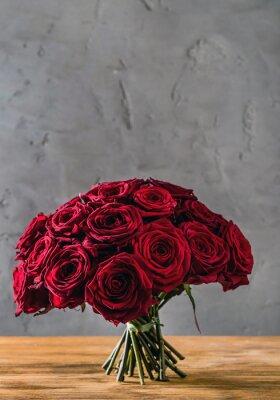 Fototapeta czerwone róże