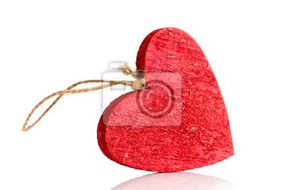Czerwone serce.
