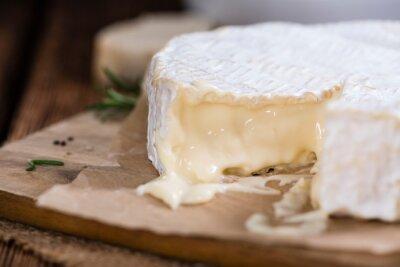 Fototapeta Część kremowym Camembert