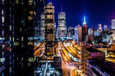 Fototapeta De Nueva York luces