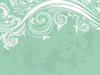 Fototapeta Dekoracyjne Floral Background